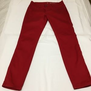 Red New York & company Lower Waist Jean Legging